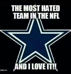 When you're good, you're just good. #GoCowboys