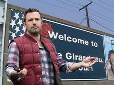Ben Affleck is in my hometown of Cape Girardeau, MO ! He is here filming the movie Gone Girl! May be a good time to take up stalking! :)