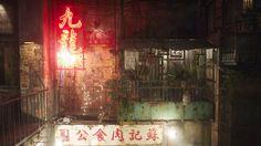 Kowloon Walled City Balcony