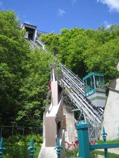 Quebec City, Canada: Funicular!!