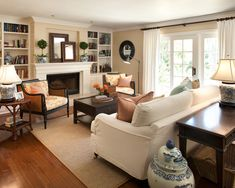 the cape cod ranch renovation - like the placement of flatscreen