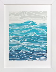 Tempestuous Seas by Gill Eggleston at minted.com