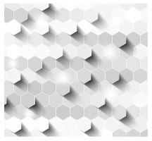 hexagon 3d background