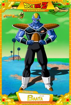 Dragon Ball Z - Son Gokuh Lineart & Colour By orco05 Background By Bejitsu Card Design By Tekilazo300 Raykugen,maffo1989,orco05 & dbkaifan2009