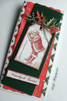 Kartka świąteczna z gwiazdorem