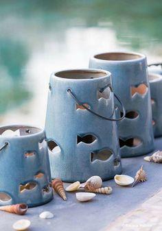 Ceramics Projects, Clay Projects, Clay Crafts, Slab Pottery, Ceramic Pottery, Thrown Pottery, Pottery Vase, Keramik Design, Ceramic Lantern