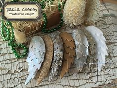 let your creativity take flight with this technique tutorial from paula cheney. discover some imaginative ways to transform these wings into wondrous works of feathered fascination. click here to...