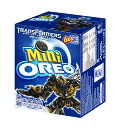 Oreo limited edition 'Transformers: Age of Extinction' pack
