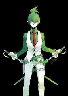 Gijinka pokemon - Gallade