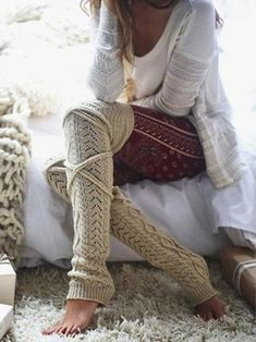 Knit Over Knee High Thigh Socks – myslady Thigh Socks, Boot Socks, Maxi Shirt Dress, Maxi Dresses, Ruffle Blouse, Knit Tie, Color Khaki, Colorful Fashion, Women's Leggings