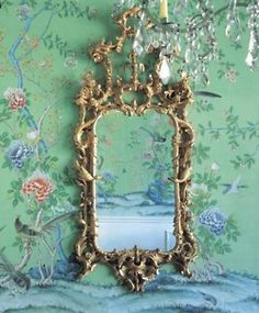 mirror mirror on the wall, who's the fairest of them all. This mirror is gaudy and i love it. reminds me of versailles