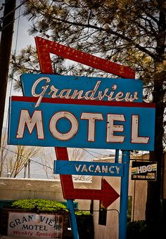 Grandview Motel, Route 66 - Albuquerque, New Mexico