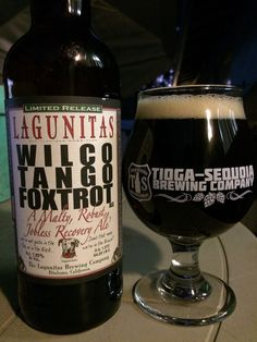 Lagunitas Brewing 'Wilco Tango Foxtrot' Imperial Brown Ale