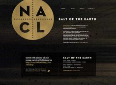 Salt of the Earth is one of Pittsburgh's favorite restaurants. The modern gastropub is a pretension-free zone, with a stripped-down interior that asks the guests to focus strictly on the food. Full Stop Interactive helped Salt of the Earth develop their brand identity as well as their website. The most striking aspect of the identity is the logo with its metal appearance and NaCl, the chemistry formula for sodium chloride, also known as salt.
