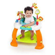 Mason - Activity station that lets baby jump/spin (such as Bright Starts Bounce Bounce Baby from Walmart for $29.99.)