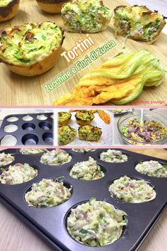 Yummy Food, Tasty, Weird Food, Antipasto, Ricotta, Finger Foods, Food To Make, Zucchini, Buffet