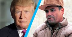 Donald Trump has found the perfect foil on Twitter: an escaped Mexican drug lord.