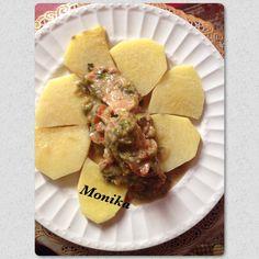 Porc à la moutarde de Dijon avec son igname jaune de Mandoumba.  #cuisinemétissée  #tchoptime
