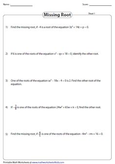 This collection of worksheets incorporates one step equations, two ...