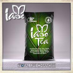 """Iaso™ Tea. $131.000 - U$49.95 Esta singular mezcla completamente natural de 9 hierbas esenciales está diseñado para limpiar los intestinos superior e inferior, el cuerpo se deshaga de toxinas y algunos parásitos realmente desagradables. Sólo 8 onzas de este té suave dos veces al día le puede proporcionar resultados dramáticos. Descubre por qué algunos incluso han llamado a esta bebida increíble """"un milagro"""". #TLCiasoplanet #perdidadepeso #salud #desintoxicacion"""