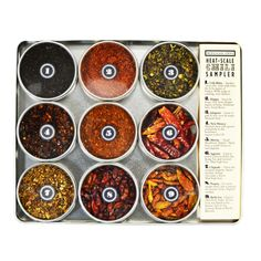 Some like it hot...and some like it even hotter.  Our Beekman 1802 pepper kit has something for everyone!  http://shop.beekman1802.com/collections/all-goods/products/scoville-heat-scale-dried-chili-sampler