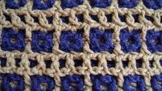 YouTube tutorials on Interlocking Crochet stitch and more by Tanis Galik