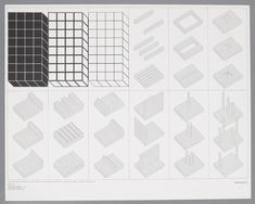 Lithograph realized in 1970 on Fabriano Rosaspina paper by Superstudio in 500 ex. numbered, signed and with the embossment of Superstudio Stampati. Dimensions 69 x 87 cm. Utopia Vs Dystopia, Urban Island, Architecture Drawings, Architecture Diagrams, Ink Stamps, Geometric Lines, Drawing Reference, Design Art, Contemporary Art
