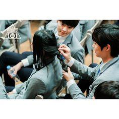 yoon heeseok with moonbok Walking Meme, Produce 101 Season 2, 2 Boys, King Of Kings, Wattpad, Seasons, Korean Idols, Kpop, Heart