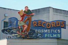 Records, Cosmetics, Films