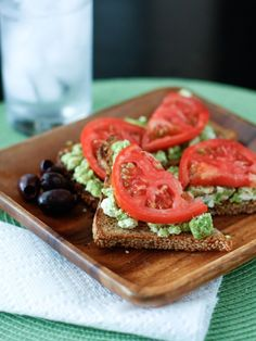 Avocado Feta Toast // simple & clean snack or meal via AggiesKitchen.com #healthy #fresh