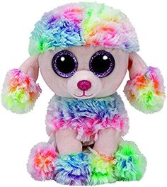 TY 37223 Beanie Boos Rainbow Dog Reg, Small
