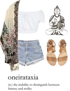 """""""somewhere between reality and fantasy"""" by flerise ❤ liked on Polyvore"""