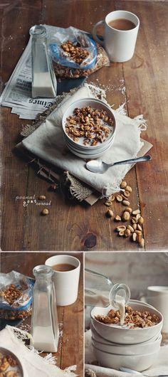 peanut  oat cereal