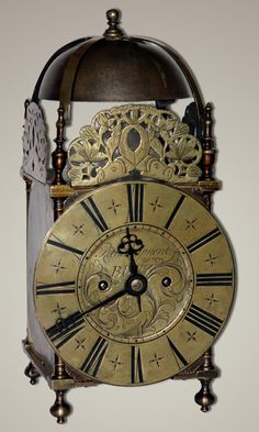 A superb example of a lantern clock by Richard Rayment of Bury. This clock has been subject to a fusee conversion, probably by the Victorians, ...