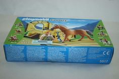 PLAYMOBIL 5517 - COUNTRY - WORK HORSE WITH STALL #PLAYMOBIL