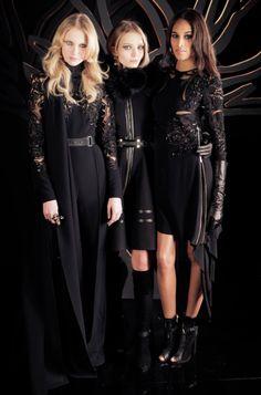 ELIE SAAB Ready-to-Wear Autumn Winter 2015-16 | Backstage