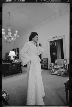 """Content with being the unknown wife of a congressman, Betty Ford was thrust into the limelight when her husband Gerald Ford unexpectedly became Vice President in 1973 and then President in 1974, following President Nixon's resignation after the Watergate scandal. Her outspokenness and frankness immediately washed away her past obscurity and endeared her to the millions of people now intently watching her. Upon becoming First Lady, she ordered her press secretary to always """"provide honest…"""