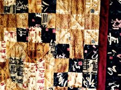 9-patch pizzazz, asian fabrics