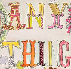 My dad painted signs for grocery store windows to advertise while in art school. I have plans to make signs, lots of signs, and I came across this for some fun inspiration...but not for grocery stores, for Halloween, Christmas, and Valentines.  Thank you Pam Garrison for the beautiful and inspiring lettering