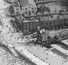 New Brighton Baths The Sad End Storm Damage Before It Was Demolished Baths Swimming Pool
