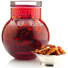 nol infusions de fruits flacon boule rouge - Mariage Freres Nancy