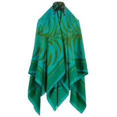Preowned Wow Rare Hermes 140cm Silk Shawl 'tigre Royale' By Hugo... ($1,404) ❤ liked on Polyvore featuring accessories, scarves, blue, hermès, pure silk scarves, silk shawl, shawl scarves and silk scarves