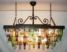 Recycling Bottles Into Macho Lighting - Only Sorta Ugly