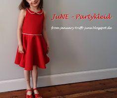 JANuAry trifft JuNE: JuNE-Partykleid...auf Herz und Nieren geprüft + free Pattern + Tutorial