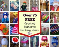 Free crochet patterns for the family and home.