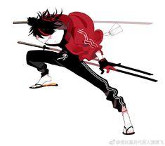 Rabbit's media content and analytics Character Drawing, Character Concept, Concept Art, Samurai Art, Character Design References, Character Design Inspiration, Japanese Art, Anime Guys, Cyberpunk