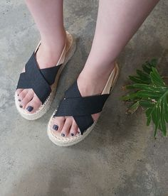 These platform sandals give you a little height and loads of chic comfort in every stride! Little Things, Pretty Little, Platform, Sandals, Chic, Stylish, Bags, Accessories, Shoes