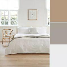 Bedroom Colour Palette, Bedroom Color Schemes, Minimalist Room, Minimalist Home Decor, House Color Palettes, Bedroom Pictures, Home Decor Bedroom, Bedroom Ideas, Master Bedroom