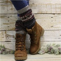 97 Combat boot socks   Short lace socks
