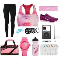 """Nike sport."" by issyldora on Polyvore"